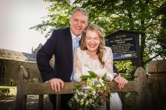 mature bride and groom  laughing Lincolnshire Wedding Photographer