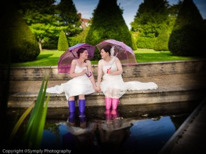 LGBT friendly wedding photographer