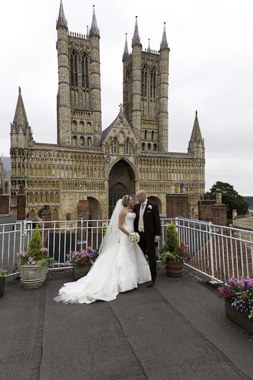 White Hart Hotel Lincoln Wedding Photographer