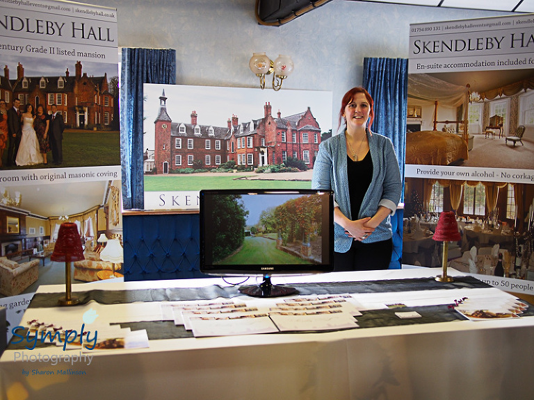 Gillian Lowe - Events Manager at Skendleby Hall at the Sleaford Wedding Fair