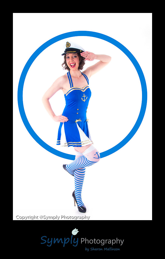 An example of pin up photography