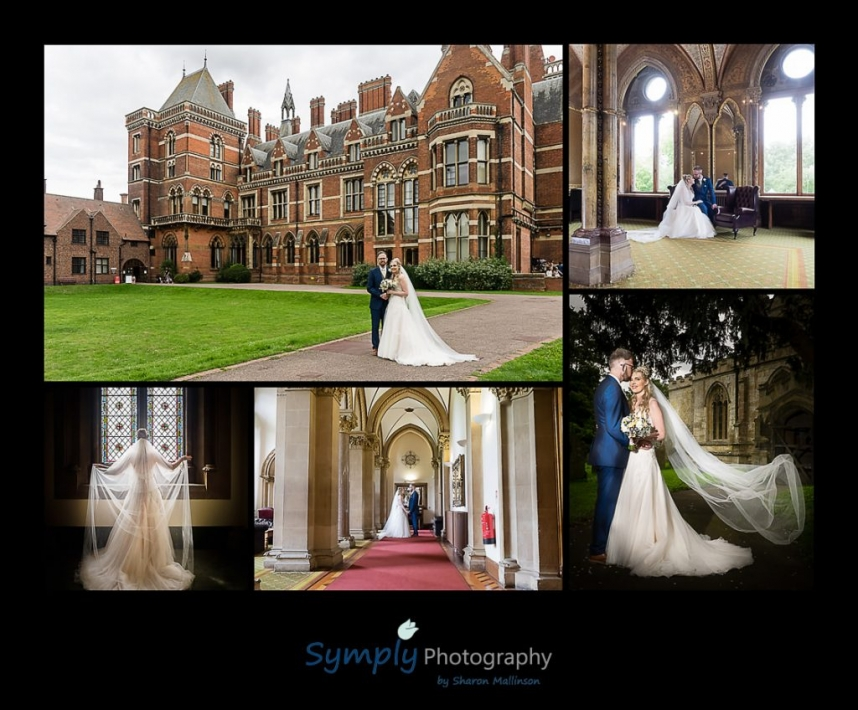 wedding photographs from Kelham Hall